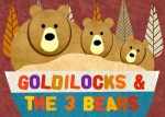 GOLDILOCKS & 3 BEARS IMAGE LANDSCAPE